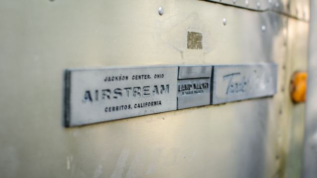 Airstream Made In Badge